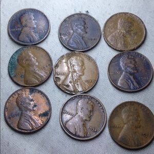 1900s Lincoln Pennies LOW PRICE $50 each VERY RARE
